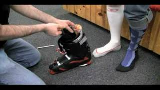 Repeat youtube video Ski Boot Fitting 101 - How to fit Ski Boots Properly Part 1