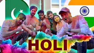 HOLI CHALLENGE | Pakistan vs India