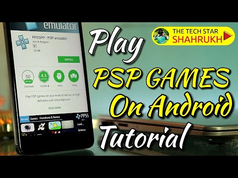 PSP Games on Android | PPSSPP Tutorial | Hindi – हिंदी