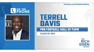 Terrell Davis Talks COVID-19 Relief Efforts, Free Agent RB's & More with Rich Eisen | Full Interview