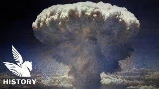 "【HD映像】長崎原子爆弾投下 ~ Atomic bomb ""Fat Man"" Dropped in Nagasaki"