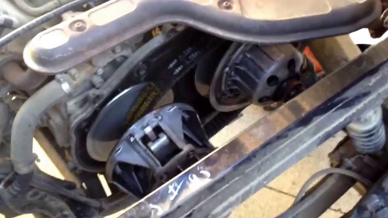 Kawasaki Mule Drive Belt Adjustment