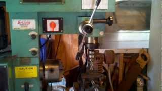 work shop with grizzly lathe