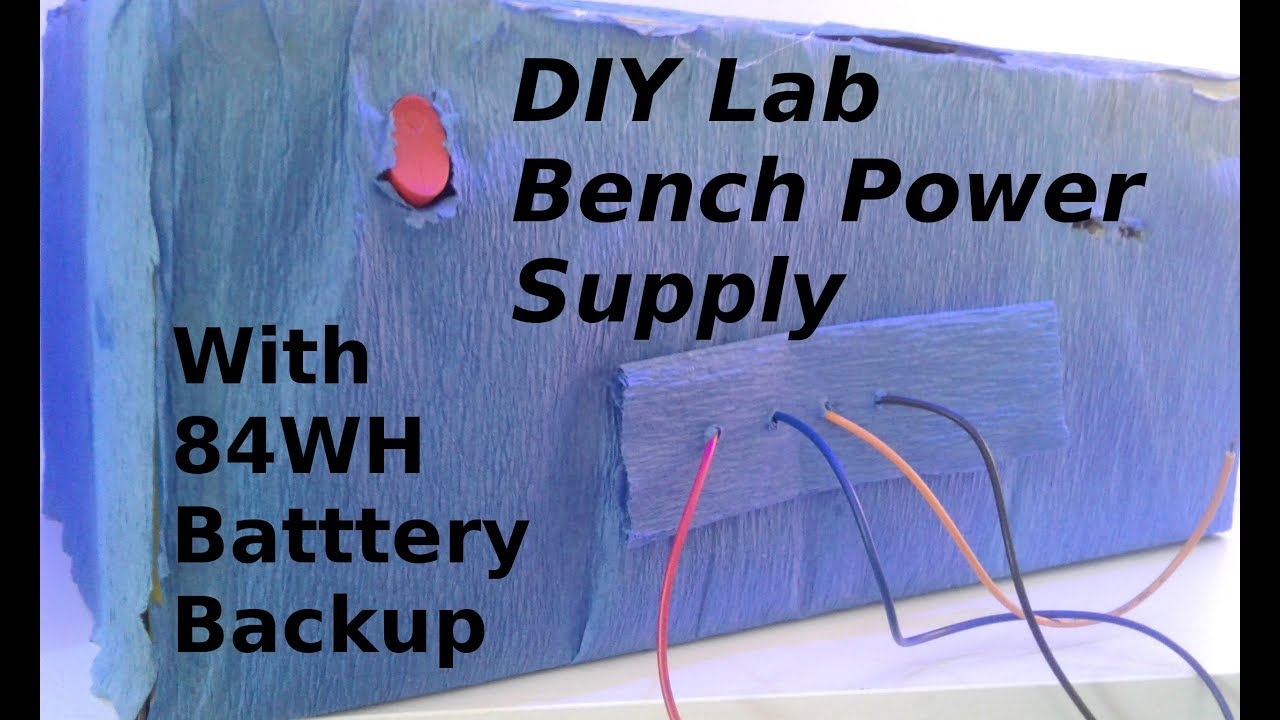 diy power supply with battery backup with circuit diagram [ 1280 x 720 Pixel ]