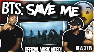 BTS (방탄소년단) 'Save ME' OFFICIAL MUSIC VIDEO MUST SEE REACTION!!.