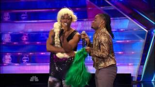 America's Got Talent 2014 - Auditions - Emmanuel & Phillip Hudson Audition