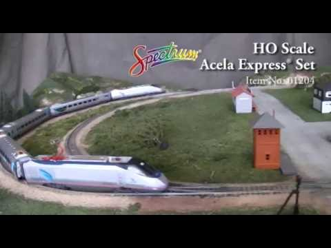 Acela Express Train Set