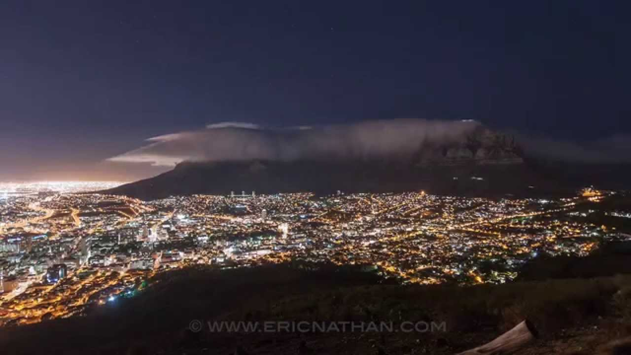 Time-lapse of Cape Town during load shedding - YouTube