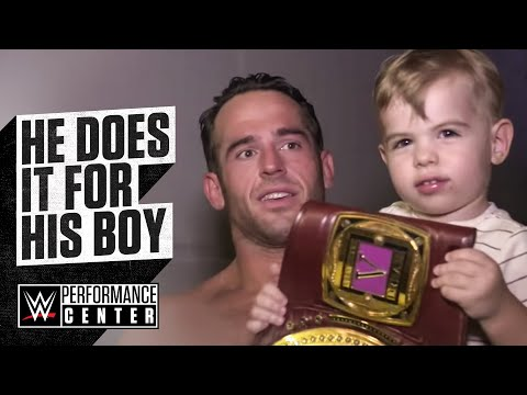 Roderick Strong Wins The NXT North American Championship For His Son