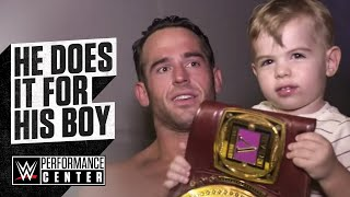 Gambar cover Roderick Strong wins the NXT North American Championship for his son