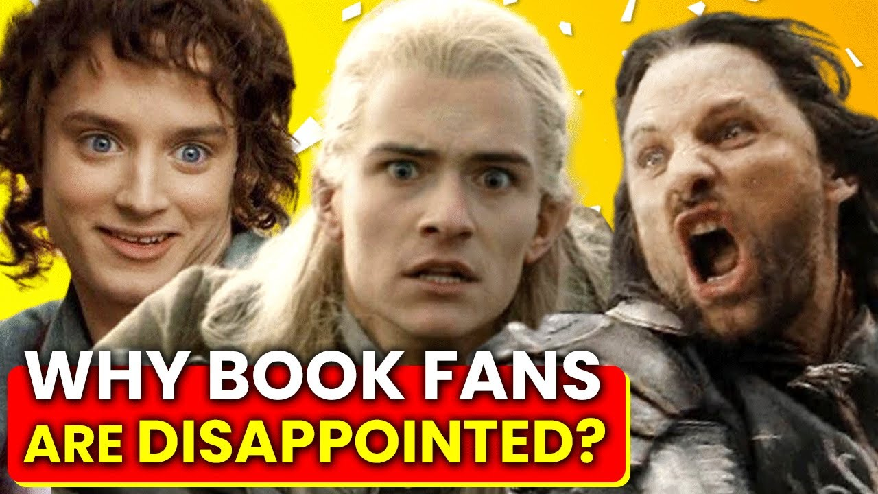 Download Comparing Lord Of The Rings Characters: Books VS Movies  🍿OSSA Movies