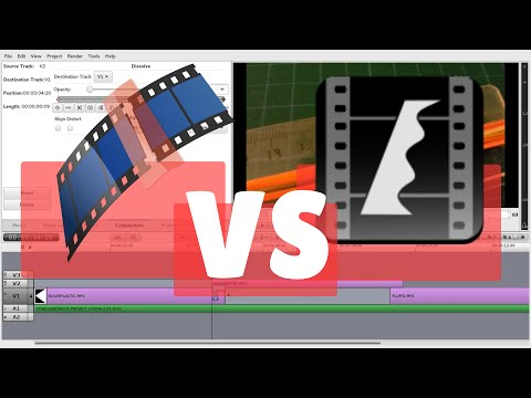 Flowblade vs. Kdenlive - Good Linux Video Editors