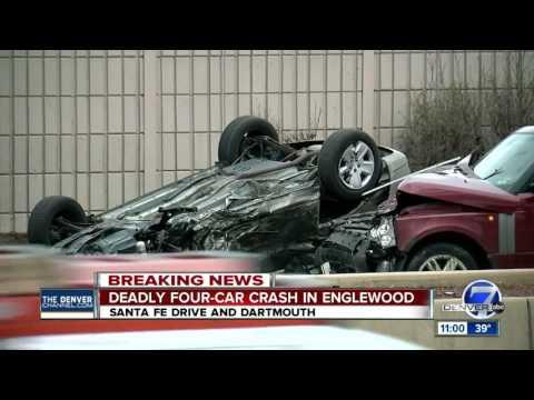 Fatal crash shuts down Santa Fe at Evans in Denver