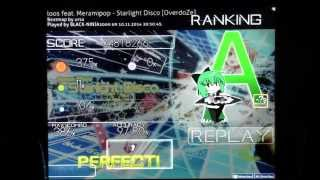 "[osu!] Catch the Beat: Starlight Disco (Overdose difficulty) Hidden Gameplay ""A Rank"""