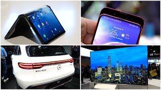 Faltbares Smartphone, Slider-Phones, 8K OLED-TV & Autos - Meine Highlights der CES 2019 | SwagTab