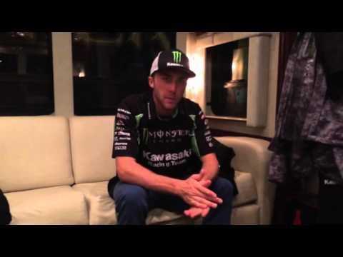 Monster Energy Kawasaki's Eli Tomac Post San Diego 2