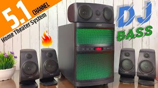 F&D F5060X 5.1 Home Theater System Unboxing & Review in Hindi | Best 5.1 Speakers