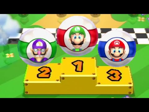 Mario Party 9 - All Racing Minigames (2 Player)