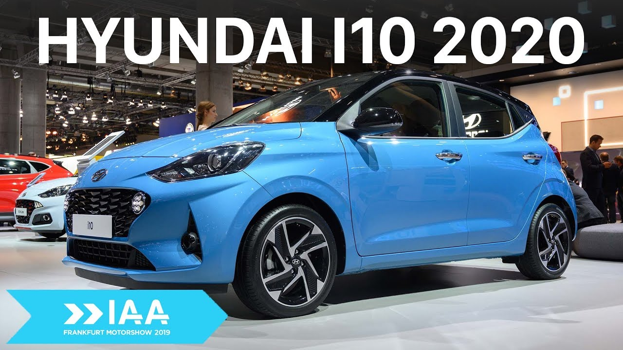 Hyundai i10 2020 Hatchback thiết kế mới nâng cấp tiện nghi