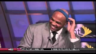 Charles Barkley with the LeBron Headband (HD)