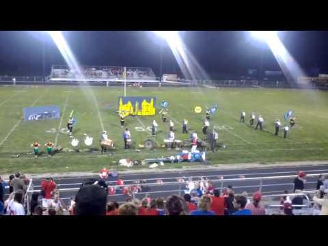 2012 Fort Frye High School Marching Cadets Batman Show