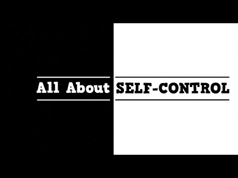All About Self Control song for kids about controlling your body and words