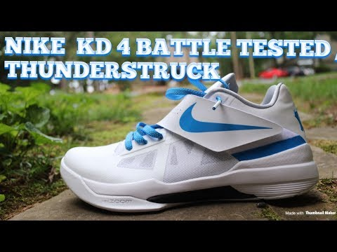 f5bf235494477e Nike KD 4 Battle Tested   Thunderstruck Review   On Feet