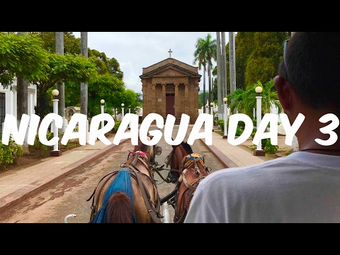Nicaragua travel vlog day3/ return to granada explore museums and city tour