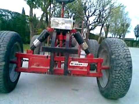 Go Kart 125cc E Quad 250cc FATTI IN CASA.mp4
