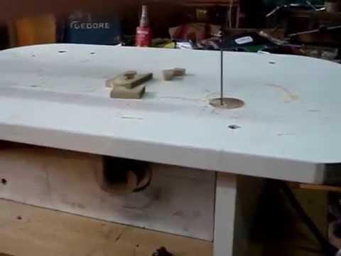 sierra de marqueteria hecho en casa