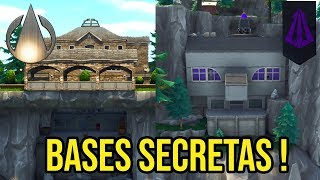 FORTNITE EASTER EGGS-Secret Bases!!!