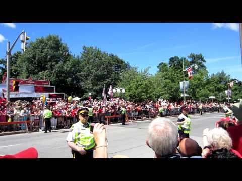 The Royal Motorcade, Ottawa 2011