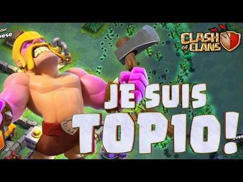 Clash of Clans YES !!!! TOP 10 FR ! ON L'A FAIT !
