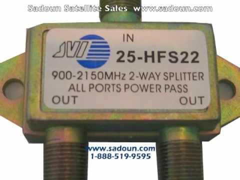 Satellite Splitters Dishes Meters Receivers