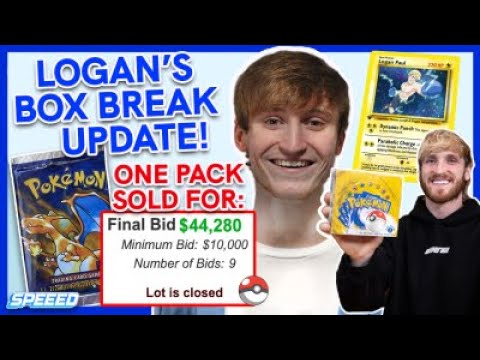 Logan Paul's 1st Edition Box is Valued At 1.4 Mil... How Will This Effect The Pokemon Market?