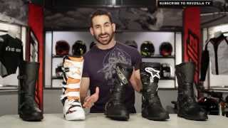 2014 Adventure & Dualsport Motorcycle Boots Buying Guide at RevZilla.com