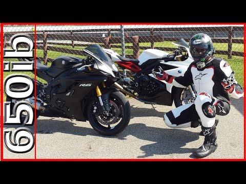 Yamaha R vs Triumph Daytona R | Track Day SMACKDOWN!