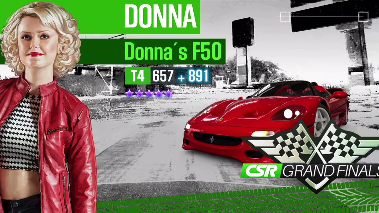 CSR 2 Dana's Challenge Tempest 2 (1 17 update) times to beat