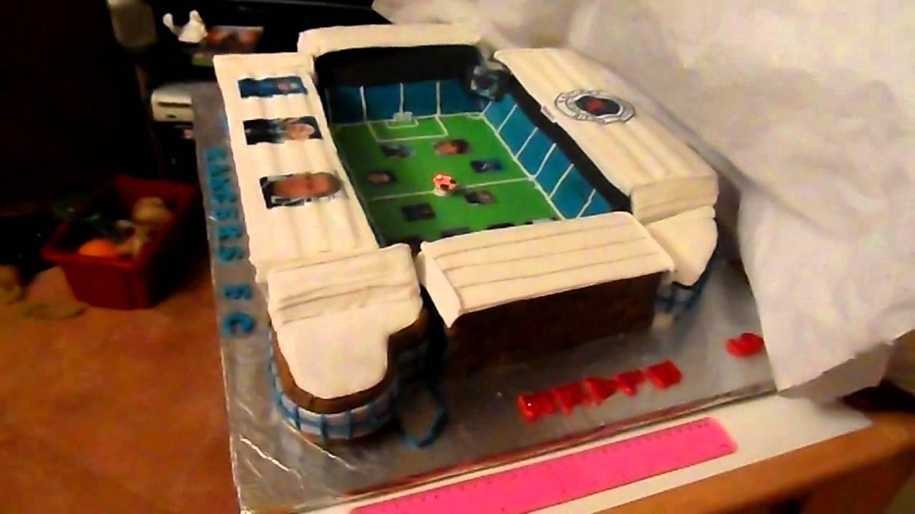 Ibrox Stadium Cake Youtube
