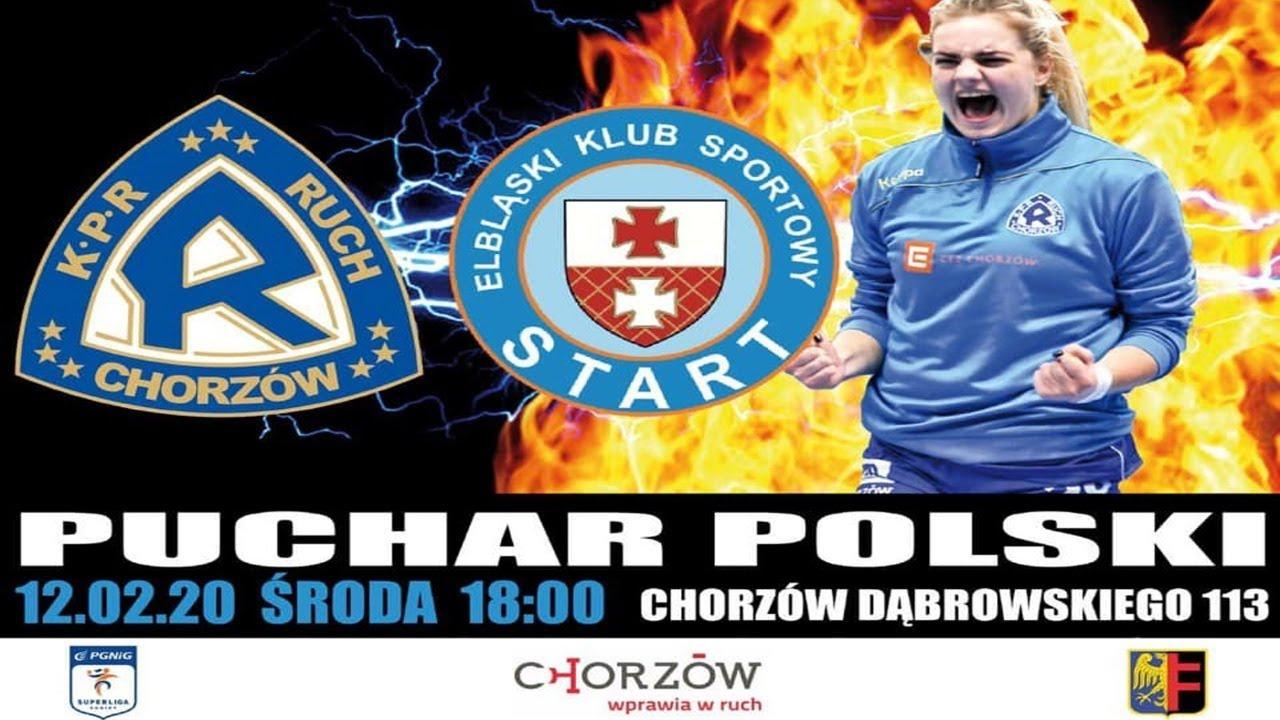 KPR Ruch Chorzów II - Start Elbląg (Puchar Polski)