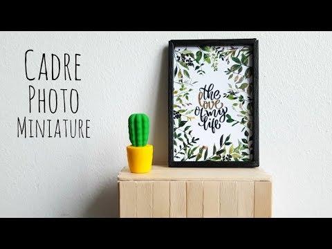 Diy Miniature Cadres Deco Maison Poupee Dollhouse Frame