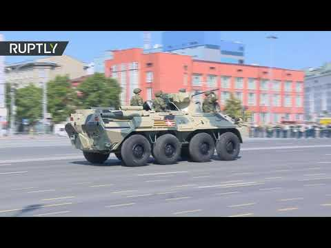 Novosibirsk celebrates 75th annual Victory Day with military parade