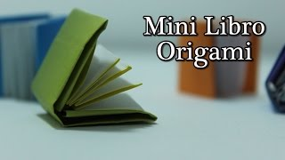 Mini Libro Origami - Mini Book Origami TUTORIAL