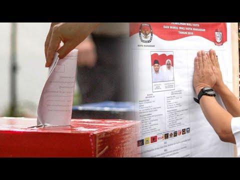 Cetak Sejarah, Quick Count Nyatakan Kotak Kosong Menang Di Pilkada Makassar