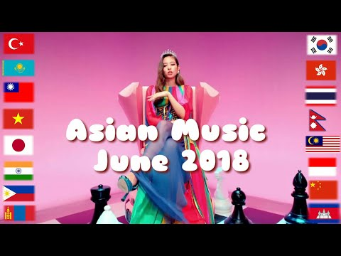 Asian music in June 2018 | 6/2018 ✔7⃣1⃣