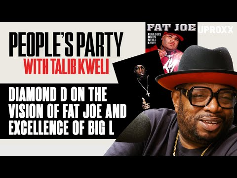 Diamond D Shares Stories About Fat Joe's Vision & Big L's 'Special Excellence' | People's Party Clip