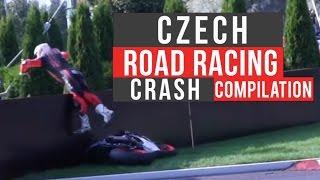 Czech Road Racing Crash Compilation | No Music