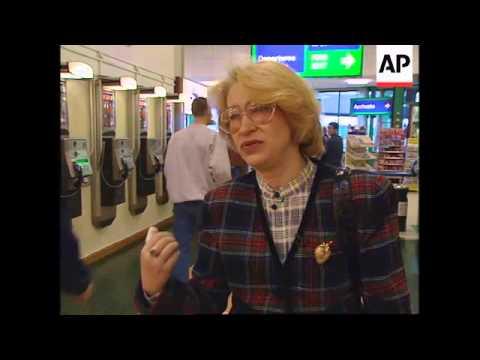UK: DOVER: 800 CZECH AND SLOVAK GYPSIES ARRIVE SEEKING ASYLUM
