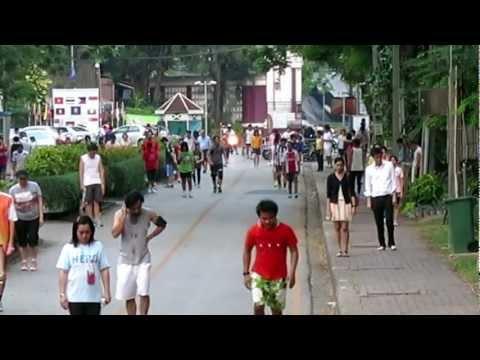 Running in Bangkok: Lumpini Park