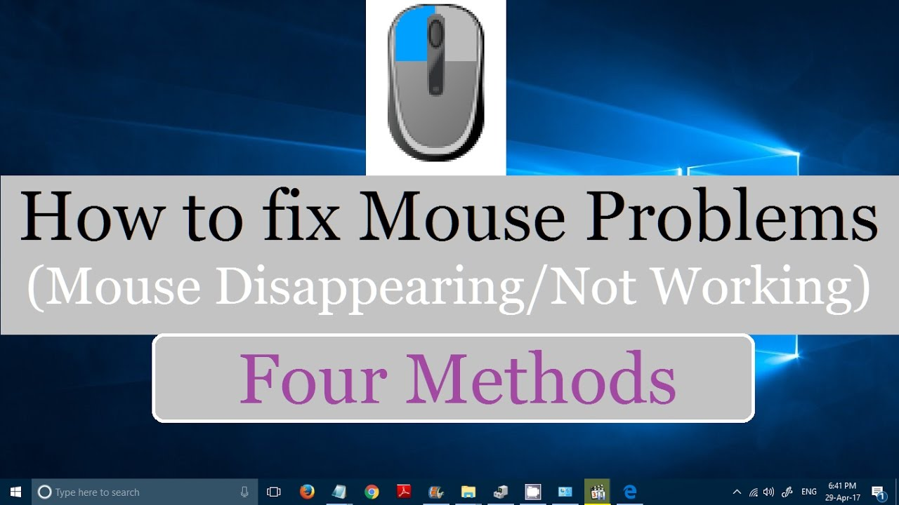 Your mouse does not work. A simple solution to a big problem for novice users 95